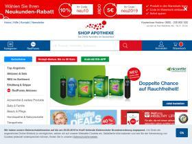 Gutscheine Shop Apotheke