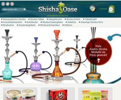 Wasserpfeife-Shisha